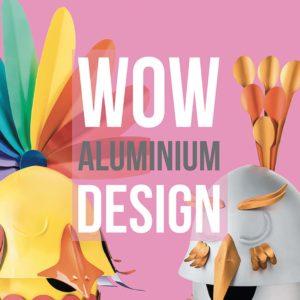 Cover del libro altreforme WOW ALUMINIUM DESIGN, edito dalla casa editrice Contrasto
