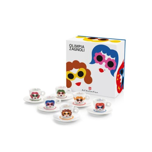illy Art Collection, set designed by Olimpia Zagnoli - Source illy website