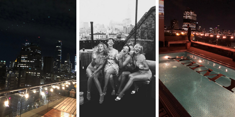 New York, Jimmy's rooftop bar, Sex and the City - Instant Mood