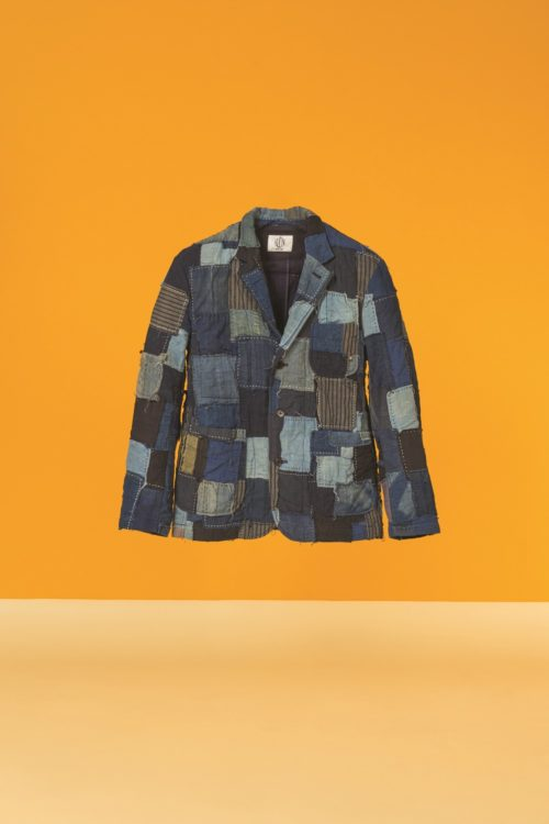 Sustainable Thinking_Up-cycled Boro Jacket