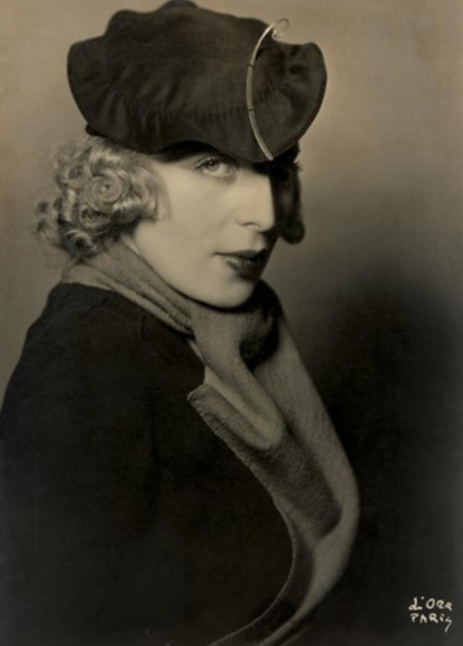 Ritratto della pittrice Tamara de Lempicka, ca. 1930-1935, Madame d'Ora