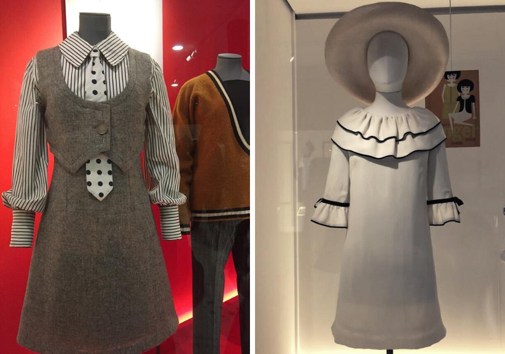 V&A Museum, Mostra Mary Quant, abiti in esposizione