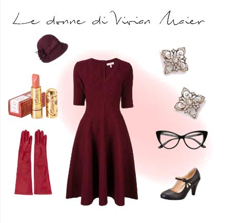 Moodboard 2 - Le donne ritratte da Vivian Maier