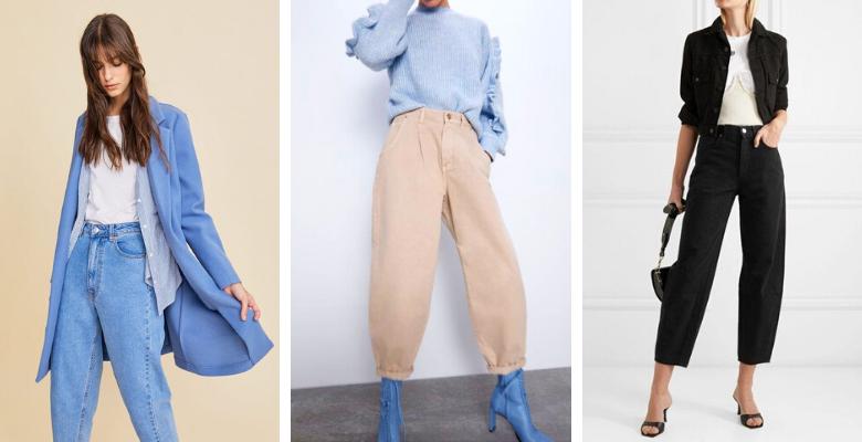 Balloon jeans - source Pinterest