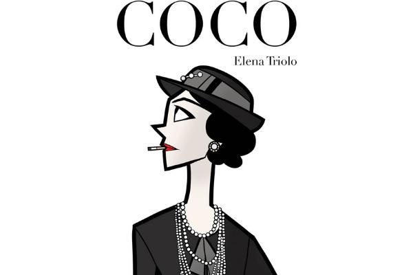 Coco Chanel_Illustrazione di Elena Triolo