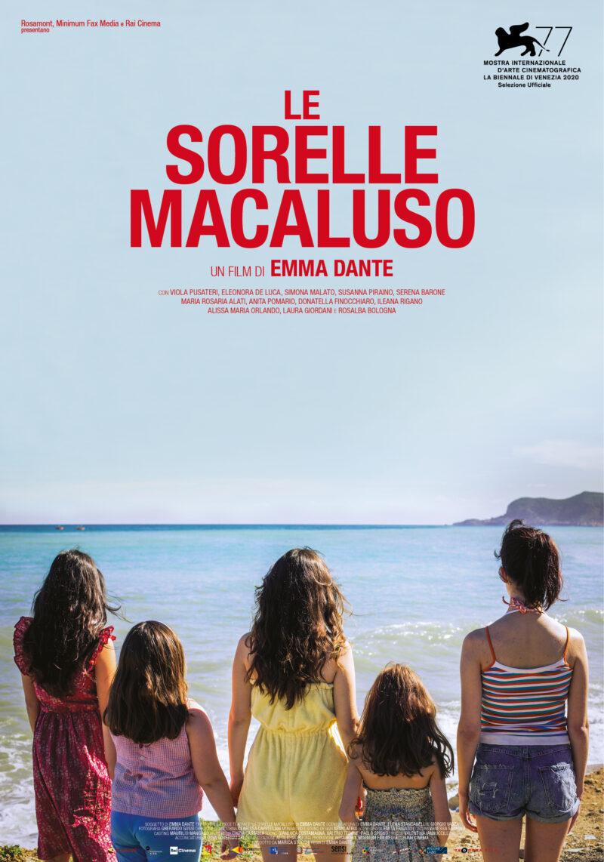 Locandina film Le Sorelle Macaluso - source ufficio stampa Giampaglia Locurcio
