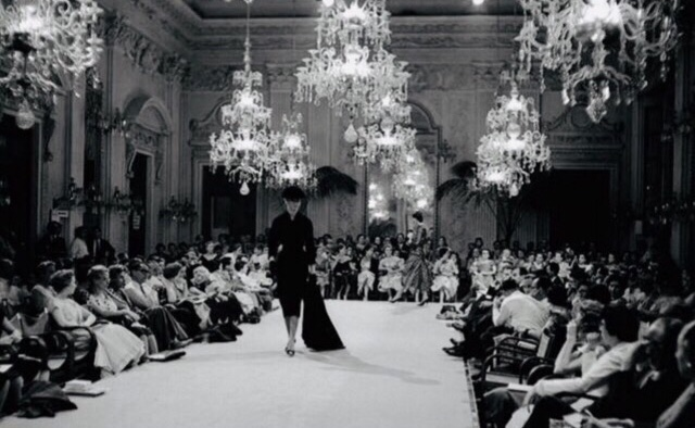 """Sala Bianca"" at Pitti Palace in Florence 1952"
