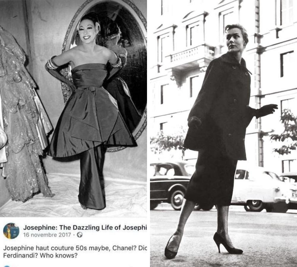 Josephine Baker e Simone Bicheron
