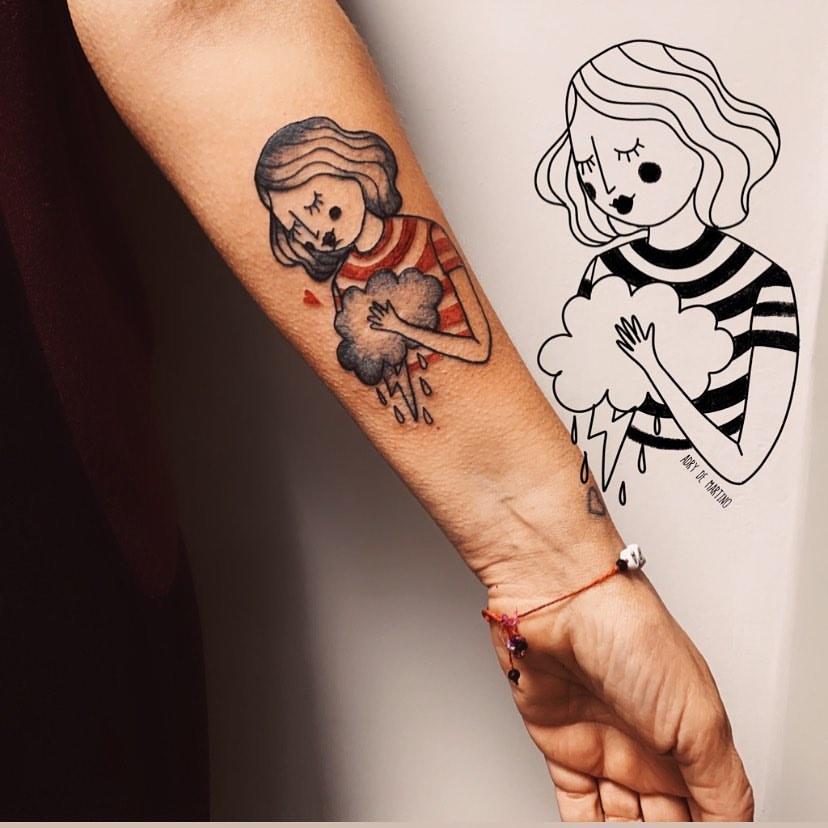 Adry De Martino - Tatuaggini coraggiosi
